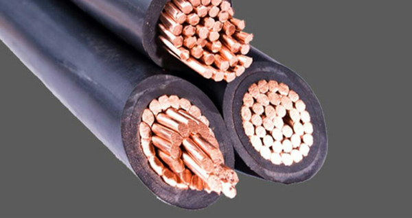 Copper cable, wire, electrical cable