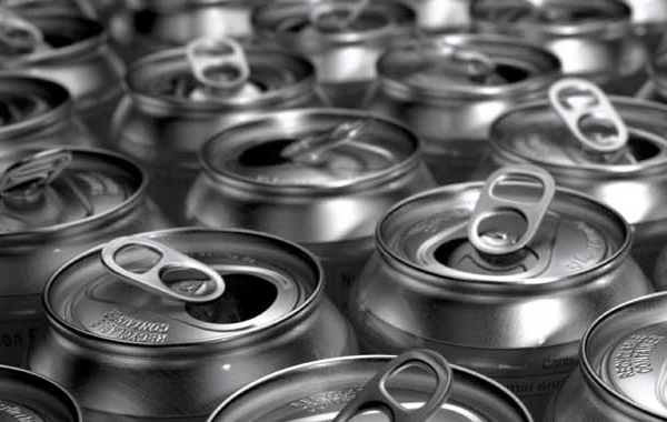 Drink cans Aluminum